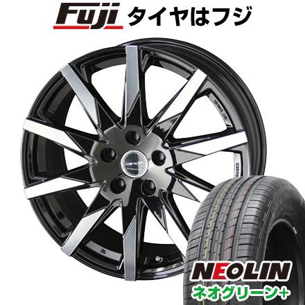 タイヤはフジ 送料無料 KYOHO 共豊 スマック スフィーダ 6.5J 6.50-16 NEOLIN ネオリン ネオグリーン プラス(限定) 205/55R16 16インチ サマータイヤ ホイール4本セット