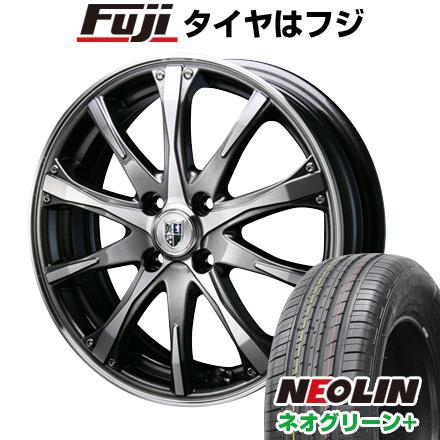 タイヤはフジ 送料無料 BLEST ブレスト バーンシュポルト タイプ504 7J 7.00-17 NEOLIN ネオリン ネオグリーン プラス(限定) 205/40R17 17インチ サマータイヤ ホイール4本セット
