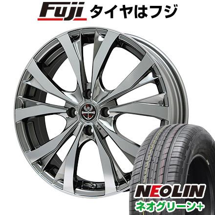 タイヤはフジ 送料無料 PREMIX プレミックス サッシカイア(BMCポリッシュ) 6.5J 6.50-16 NEOLIN ネオリン ネオグリーン プラス(限定) 205/45R16 16インチ サマータイヤ ホイール4本セット