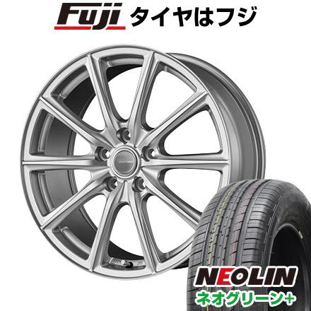 タイヤはフジ 送料無料 BRIDGESTONE ブリヂストン エコフォルム SE-15 6.5J 6.50-16 NEOLIN ネオリン ネオグリーン プラス(限定) 205/55R16 16インチ サマータイヤ ホイール4本セット