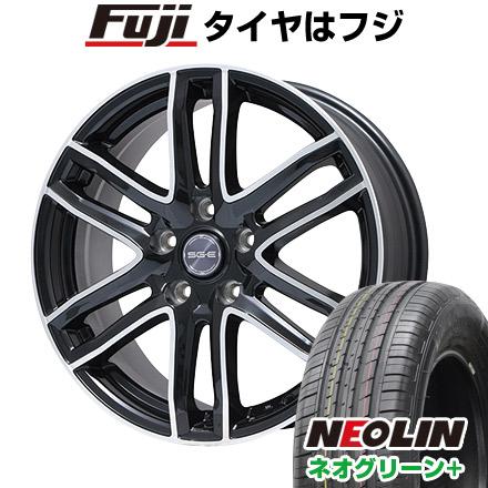 タイヤはフジ 送料無料 BRANDLE ブランドル G61B 6J 6.00-16 NEOLIN ネオリン ネオグリーン プラス(限定) 205/55R16 16インチ サマータイヤ ホイール4本セット