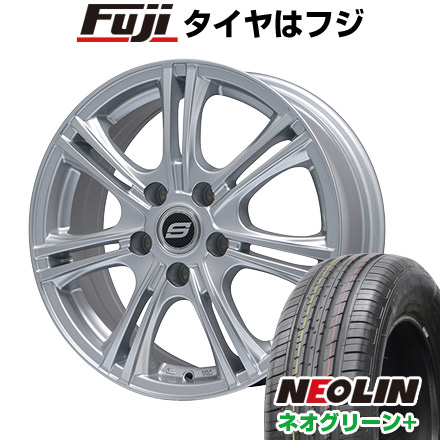 タイヤはフジ 送料無料 BRANDLE ブランドル M68 6.5J 6.50-16 NEOLIN ネオリン ネオグリーン プラス(限定) 205/55R16 16インチ サマータイヤ ホイール4本セット