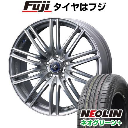 タイヤはフジ 送料無料 WEDS ウェッズ レオニス NAVIA 03限定 6J 6.00-15 NEOLIN ネオリン ネオグリーン プラス(限定) 195/65R15 15インチ サマータイヤ ホイール4本セット