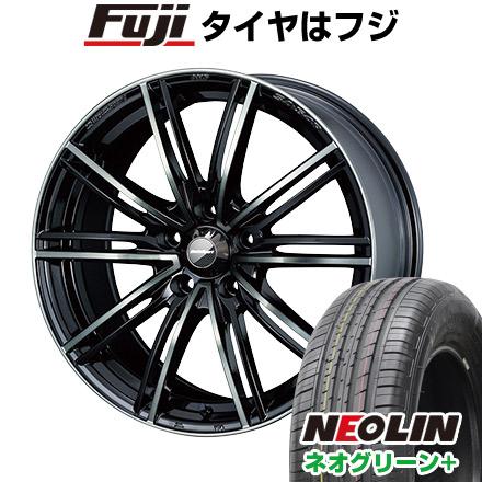 タイヤはフジ 送料無料 WEDS ウェッズスポーツ SA-54R 7J 7.00-16 NEOLIN ネオリン ネオグリーン プラス(限定) 205/60R16 16インチ サマータイヤ ホイール4本セット