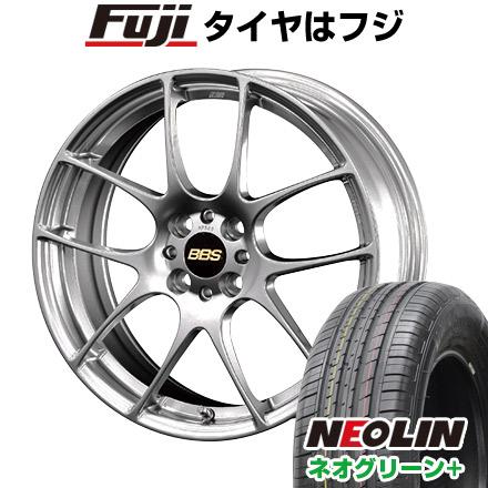 タイヤはフジ 送料無料 BBS JAPAN BBS RF 7J 7.00-17 NEOLIN ネオリン ネオグリーン プラス(限定) 205/40R17 17インチ サマータイヤ ホイール4本セット
