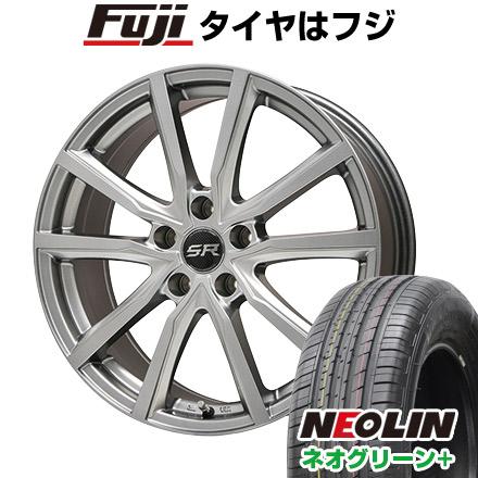 タイヤはフジ 送料無料 BRANDLE ブランドル N52 6J 6.00-16 NEOLIN ネオリン ネオグリーン プラス(限定) 205/55R16 16インチ サマータイヤ ホイール4本セット