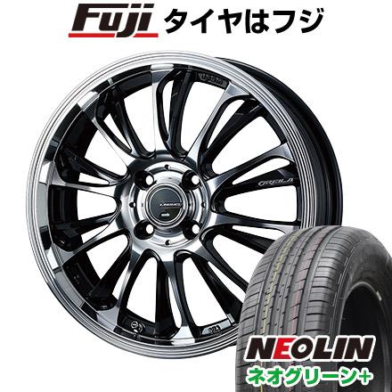 タイヤはフジ 送料無料 WEDS ウェッズ レオニス グレイラβ 6.5J 6.50-17 NEOLIN ネオリン ネオグリーン プラス(限定) 205/40R17 17インチ サマータイヤ ホイール4本セット