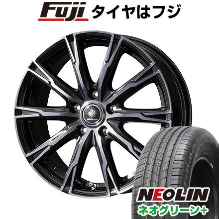 送料無料 195 55R16 16インチ NEOLIN ネオリン ネオグリーン プラス 限定 日本 ホイール4本セット DX10 取付対象 ブランド品 トピー サマータイヤ ディルーチェ 6.50-16 6.5J TOPY
