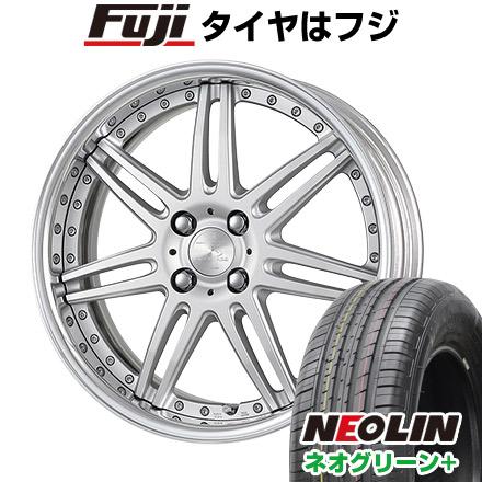 タイヤはフジ 送料無料 WORK ワーク リザルタード スポーク2 6.5J 6.50-16 NEOLIN ネオリン ネオグリーン プラス(限定) 205/45R16 16インチ サマータイヤ ホイール4本セット