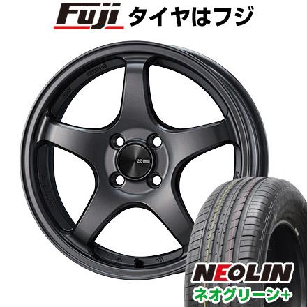 タイヤはフジ 送料無料 ENKEI エンケイ PF05 7J 7.00-16 NEOLIN ネオリン ネオグリーン プラス(限定) 205/55R16 16インチ サマータイヤ ホイール4本セット