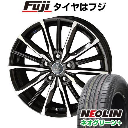 タイヤはフジ 送料無料 KYOHO 共豊 スマック プライム ヴァルキリー 6.5J 6.50-16 NEOLIN ネオリン ネオグリーン プラス(限定) 205/55R16 16インチ サマータイヤ ホイール4本セット