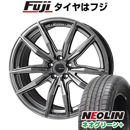 タイヤはフジ 送料無料 MONZA モンツァ Rバージョンブロッカー 6J 6.00-16 NEOLIN ネオリン ネオグリーン プラス(限定) 205/45R16 16インチ サマータイヤ ホイール4本セット