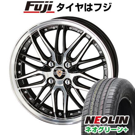 タイヤはフジ 送料無料 KYOHO 共豊 シュタイナー LMX 6J 6.00-16 NEOLIN ネオリン ネオグリーン プラス(限定) 195/55R16 16インチ サマータイヤ ホイール4本セット