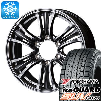 【送料無料】 YOKOHAMA ヨコハマ アイスガード SUV G075 265/65R17 17インチ スタッドレスタイヤ ホイール4本セット TOPY バザルト-X タイプ2 7.5J 7.50-17