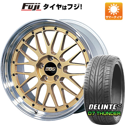 【送料無料 MINI(R60)】 225/40R19 19インチ BBS JAPAN BBS LM 8J 8.00-19 DELINTE デリンテ D7 サンダー(限定) サマータイヤ ホイール4本セット 輸入車