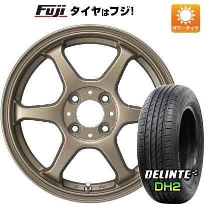 【送料無料】 165/50R15 15インチ カジュアルセット タイプL 2. 5J 5.00-15 DELINTE デリンテ DH2(限定) サマータイヤ ホイール4本セット