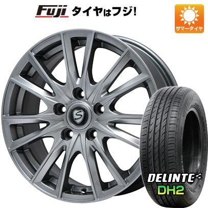 【送料無料】 225/55R18 18インチ BRANDLE ブランドル 485 7.5J 7.50-18 DELINTE デリンテ DH2(限定) サマータイヤ ホイール4本セット