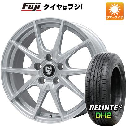 【送料無料】 225/55R18 18インチ BRANDLE ブランドル 039 7.5J 7.50-18 DELINTE デリンテ DH2(限定) サマータイヤ ホイール4本セット