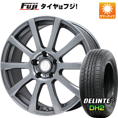 【送料無料】 215/65R16 16インチ BRANDLE ブランドル 565T 6.5J 6.50-16 DELINTE デリンテ DH2(限定) サマータイヤ ホイール4本セット