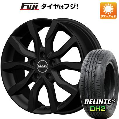 【送料無料】 205/55R16 16インチ MAK ケルン 6.5J 6.50-16 DELINTE デリンテ DH2(限定) サマータイヤ ホイール4本セット