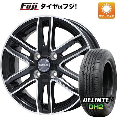 【送料無料】 195/65R15 15インチ BRANDLE ブランドル G61B 6J 6.00-15 DELINTE デリンテ DH2(限定) サマータイヤ ホイール4本セット