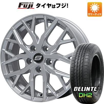 【送料無料】 225/55R18 18インチ BRANDLE ブランドル TM20 7.5J 7.50-18 DELINTE デリンテ DH2(限定) サマータイヤ ホイール4本セット