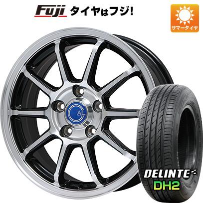 【送料無料】 225/45R18 18インチ BRANDLE ブランドル M60B 7.5J 7.50-18 DELINTE デリンテ DH2(限定) サマータイヤ ホイール4本セット