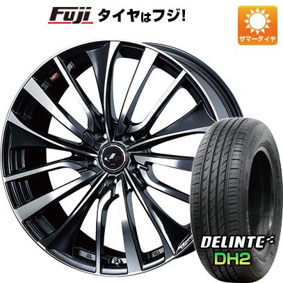 【送料無料】 205/60R16 16インチ WEDS ウェッズ レオニス VT 6.5J 6.50-16 DELINTE デリンテ DH2(限定) サマータイヤ ホイール4本セット