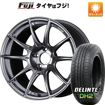 【送料無料】 235/45R18 18インチ SSR GTX01 7.5J 7.50-18 DELINTE デリンテ DH2(限定) サマータイヤ ホイール4本セット