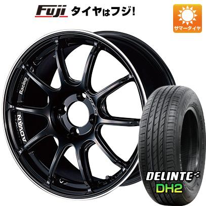 【送料無料 ノート】 195/55R16 16インチ YOKOHAMA ヨコハマ アドバンレーシング RZII 6.5J 6.50-16 DELINTE デリンテ DH2(限定) サマータイヤ ホイール4本セット