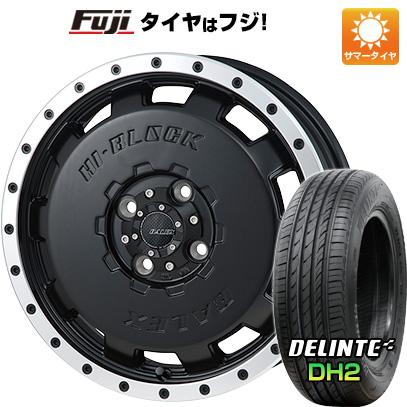 【送料無料 エブリイワゴン】 165/50R15 15インチ MONZA モンツァ HI-BLOCK バレックス 4.5J 4.50-15 DELINTE デリンテ DH2(限定) サマータイヤ ホイール4本セット