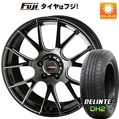 【送料無料】 225/40R18 18インチ KYOHO サーキュラー RM-7 7.5J 7.50-18 DELINTE デリンテ DH2(限定) サマータイヤ ホイール4本セット