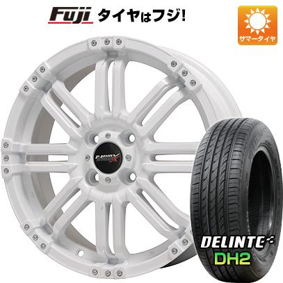 【送料無料】 165/50R15 15インチ BIGWAY ビッグウエイ B-MUD X(ホワイト) 4.5J 4.50-15 DELINTE デリンテ DH2(限定) サマータイヤ ホイール4本セット