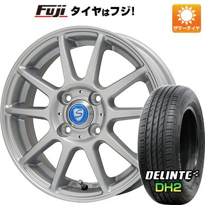【送料無料】 175/65R14 14インチ BRANDLE ブランドル 302 5.5J 5.50-14 DELINTE デリンテ DH2(限定) サマータイヤ ホイール4本セット