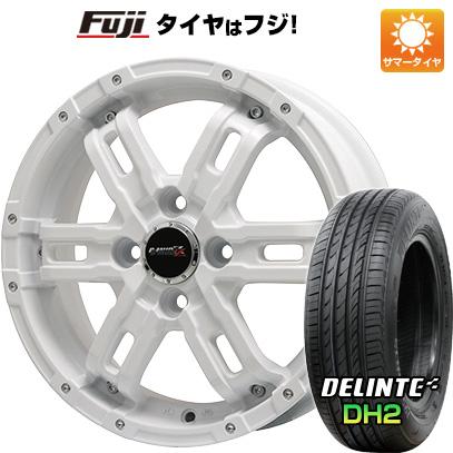 【送料無料】 165/55R15 15インチ BIGWAY ビッグウエイ B-MUD Z(ホワイト) 4.5J 4.50-15 DELINTE デリンテ DH2(限定) サマータイヤ ホイール4本セット