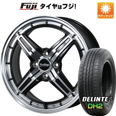【送料無料】 165/55R15 15インチ BLEST ブレスト ビートステージ FS-C 5J 5.00-15 DELINTE デリンテ DH2(限定) サマータイヤ ホイール4本セット