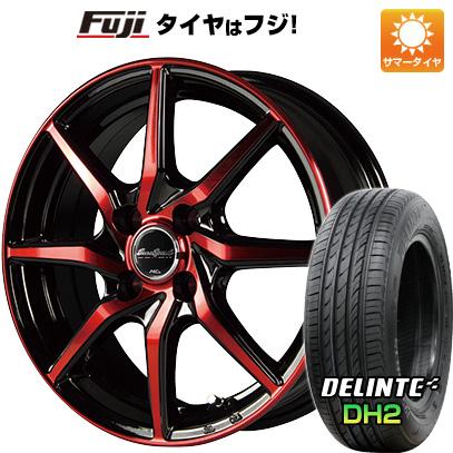 【送料無料】 185/60R15 15インチ MID ユーロスピード S810 5.5J 5.50-15 DELINTE デリンテ DH2(限定) サマータイヤ ホイール4本セット