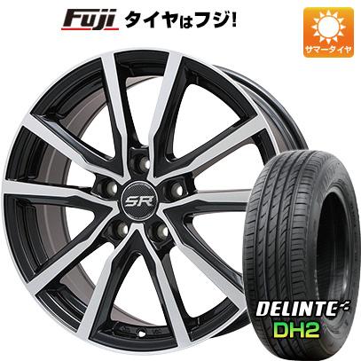 【送料無料】 205/60R16 16インチ BRANDLE ブランドル N52BP 6J 6.00-16 DELINTE デリンテ DH2(限定) サマータイヤ ホイール4本セット