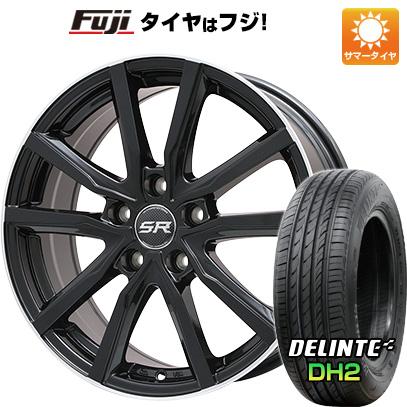 【送料無料】 235/45R18 18インチ BRANDLE ブランドル N52B 7.5J 7.50-18 DELINTE デリンテ DH2(限定) サマータイヤ ホイール4本セット