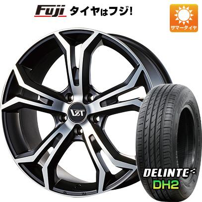【送料無料 ボルボ(V60クロスカントリー)】 235/50R18 18インチ VST タイプPLS 8J 8.00-18 DELINTE デリンテ DH2(限定) サマータイヤ ホイール4本セット 輸入車