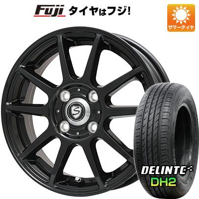 【送料無料】 155/65R14 14インチ BRANDLE ブランドル 302B 4.5J 4.50-14 DELINTE デリンテ DH2(限定) サマータイヤ ホイール4本セット