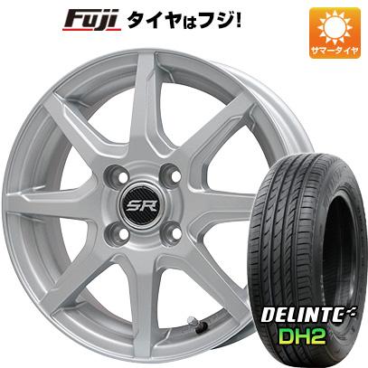 【送料無料】 155/65R14 14インチ BRANDLE ブランドル S8 4.5J 4.50-14 DELINTE デリンテ DH2(限定) サマータイヤ ホイール4本セット