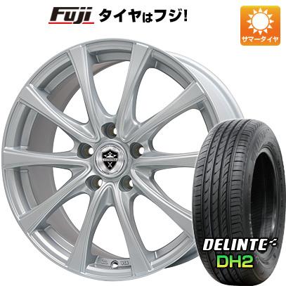 【送料無料】 225/55R18 18インチ BRANDLE ブランドル KF25 7.5J 7.50-18 DELINTE デリンテ DH2(限定) サマータイヤ ホイール4本セット