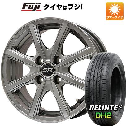 【送料無料】 185/65R14 14インチ BRANDLE ブランドル T8 5.5J 5.50-14 DELINTE デリンテ DH2(限定) サマータイヤ ホイール4本セット