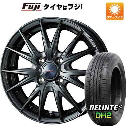 【送料無料】 185/65R14 14インチ WEDS ヴェルバ スポルト2 5.5J 5.50-14 DELINTE デリンテ DH2(限定) サマータイヤ ホイール4本セット