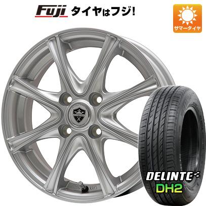 【送料無料】 165/55R15 15インチ BRANDLE ブランドル ER16 4.5J 4.50-15 DELINTE デリンテ DH2(限定) サマータイヤ ホイール4本セット