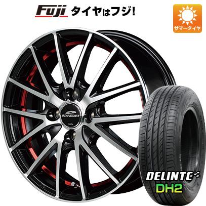 【送料無料】 155/65R14 14インチ MID シュナイダー RX27 4.5J 4.50-14 DELINTE デリンテ DH2(限定) サマータイヤ ホイール4本セット