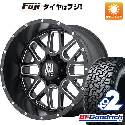 【送料無料】 285/55R20 20インチ KMC XDシリーズ XD820 グレネード 9J 9.00-20 BFG BFグッドリッチ オールテレーンT/A KO2 RBL サマータイヤ ホイール4本セット