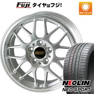 【送料無料】 225/45R18 18インチ BBS JAPAN BBS RG-R 7.5J 7.50-18 NEOLIN ネオリン ネオスポーツ(限定) サマータイヤ ホイール4本セット