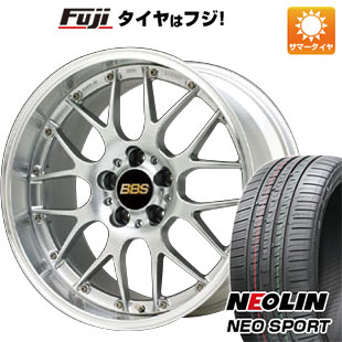 【送料無料】 245/45R19 19インチ BBS JAPAN BBS RS-GT 8J 8.00-19 NEOLIN ネオリン ネオスポーツ(限定) サマータイヤ ホイール4本セット